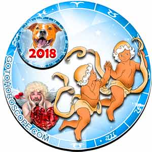2018 Love Horoscope for Gemini Zodiac Sign