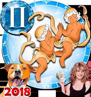 2018 Money Horoscope for Gemini Zodiac Sign