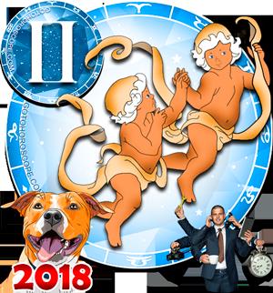 2018 Work Horoscope Gemini for the Dog Year