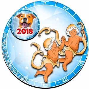 2018 Horoscope for Gemini Zodiac Sign