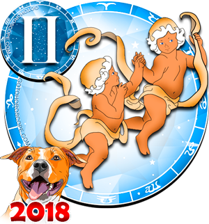 2018 Color Horoscope for Gemini Zodiac Sign