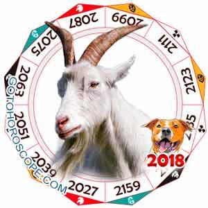 Oriental 2018 Horoscope for Sheep