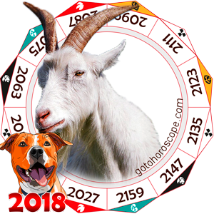 Oriental 2018 Horoscope for Sheep
