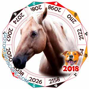Oriental 2018 Horoscope for Horse