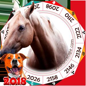 Oriental 2018 Horoscope for Horse