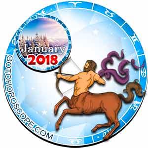 Sagittarius Horoscope for January 2018