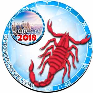Scorpio Horoscope for January 2018