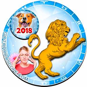 2018 Health Horoscope for Leo Zodiac Sign