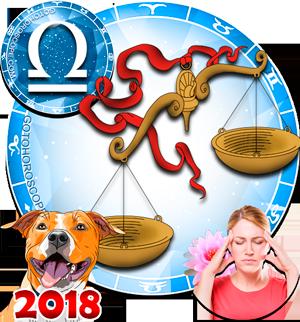 2018 Health Horoscope for Libra Zodiac Sign