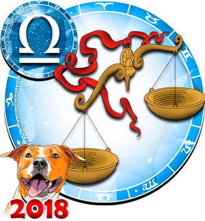 2018 Color Horoscope for Libra Zodiac Sign