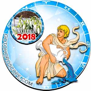 Aquarius Horoscope for March 2018