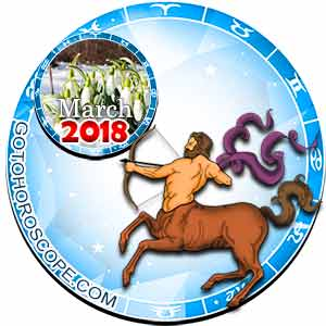 Sagittarius Horoscope for March 2018