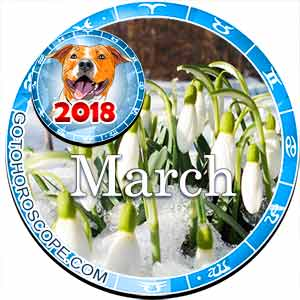 Horoscope for March 2018