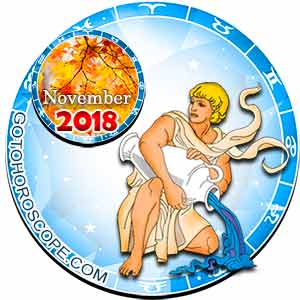 Aquarius Horoscope for November 2018