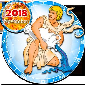 2018 November Horoscope Aquarius for the Dog Year