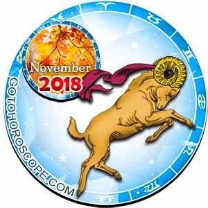 Aries Horoscope for November 2018