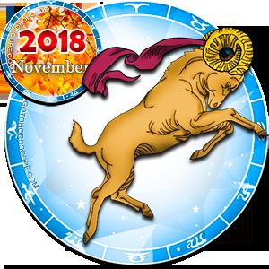 2018 November Horoscope Aries for the Dog Year