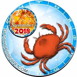 Cancer Horoscope for November 2018