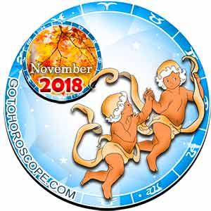 Gemini Horoscope for November 2018