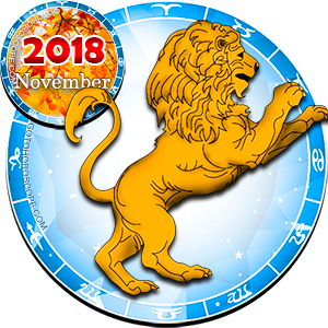 2018 November Horoscope Leo for the Dog Year
