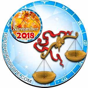 Libra Horoscope for November 2018