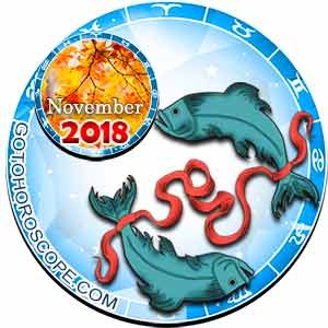 Pisces Horoscope for November 2018