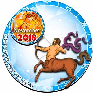 November 2018 Horoscope Sagittarius, free Monthly Horoscope