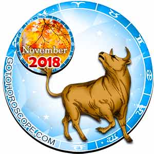 Taurus Horoscope for November 2018