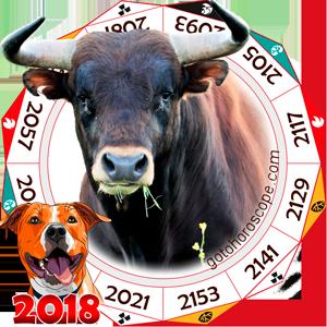 Oriental 2018 Horoscope for Ox
