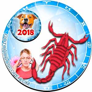 2018 Health Horoscope for Scorpio Zodiac Sign