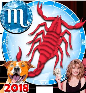 2018 Money Horoscope for Scorpio Zodiac Sign