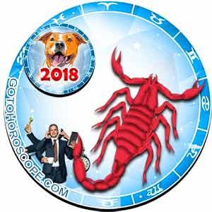 2018 Work Horoscope for Scorpio Zodiac Sign