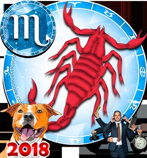 2018 Work Horoscope Scorpio for the Dog Year