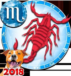 2018 Color Horoscope for Scorpio Zodiac Sign
