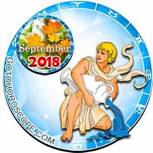 Aquarius Horoscope for September 2018