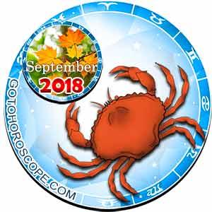 Cancer Horoscope for September 2018