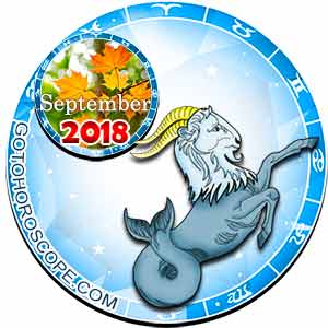 Capricorn Horoscope for September 2018