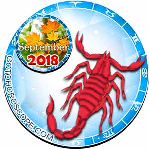 Scorpio Horoscope for September 2018