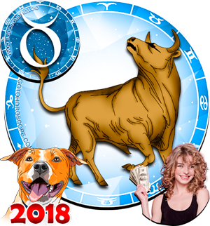 2018 Money Horoscope for Taurus Zodiac Sign