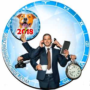 2018 Work Horoscope for 12 Zodiac Sign