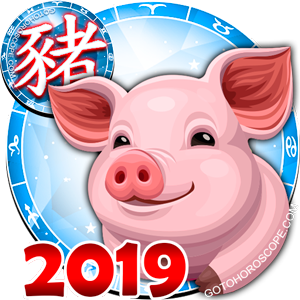 2019 Horoscope for all Zodiac, find your anual Forecast for 2019 Pig Year