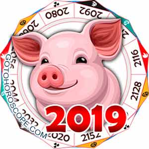 2019 Horoscope, 2019 Chinese New Year Horoscopes of the earth Pig