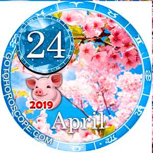 Daily Horoscope April 24, 2019 for all Zodiac signs