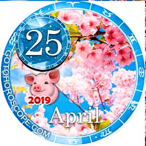 Daily Horoscope April 25, 2019 for 12 Zodica signs