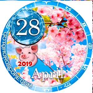 Daily Horoscope April 28, 2019 for 12 Zodica signs