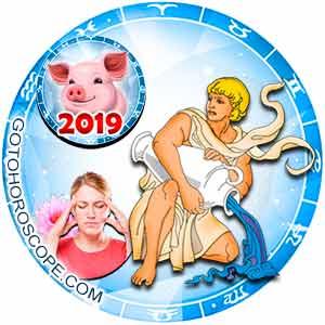 2019 Health Horoscope for Aquarius Zodiac Sign