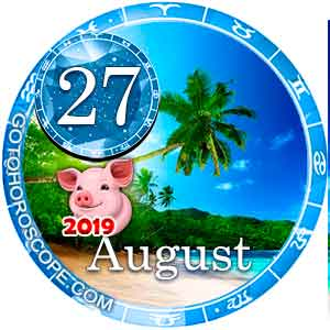 Daily Horoscope for August 27, 2019