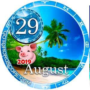 Daily Horoscope for August 29, 2019