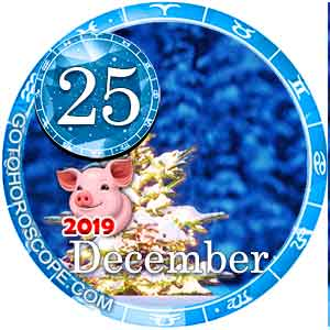 Daily Horoscope for December 25, 2019