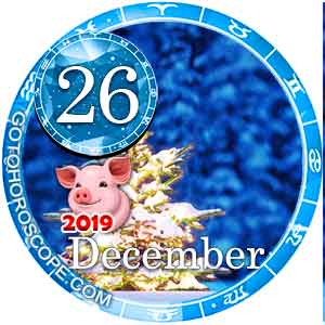 Daily Horoscope for December 26, 2019